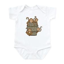 Barrel Monkey Infant Bodysuit