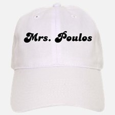 Mrs. Poulos Baseball Baseball Cap