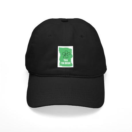 YES I'M IRISH Black Cap