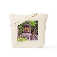 Buddha's Head Tote Bag