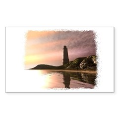 LIGHTHOUSE Rectangle Decal