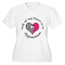 afghanistan Plus Size T-Shirt