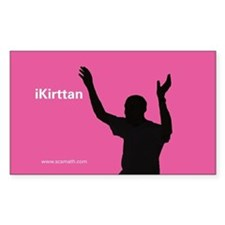 iKirttan Rectangle Decal