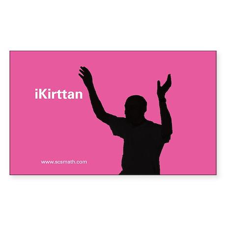 iKirttan Rectangle Sticker