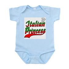 Classic Italian Princess Infant Creeper