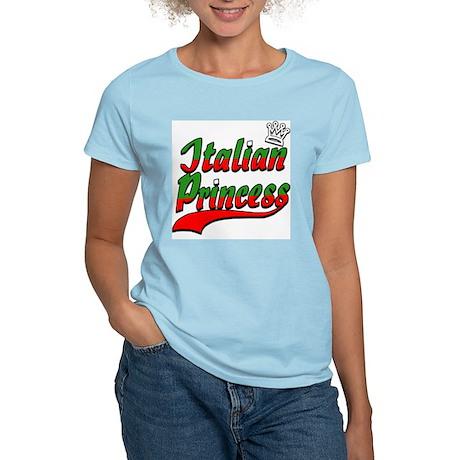 Classic Italian Princess Women's Pink T-Shirt