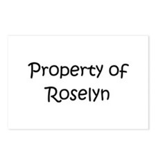 Funny Roselyn Postcards (Package of 8)