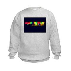 Color-Coded Chaos Sweatshirt