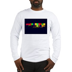 Color-Coded Chaos Long Sleeve T-Shirt