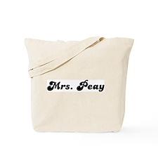 Mrs. Peay Tote Bag