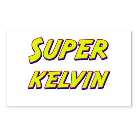Super kelvin Rectangle Sticker