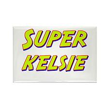 Super kelsie Rectangle Magnet