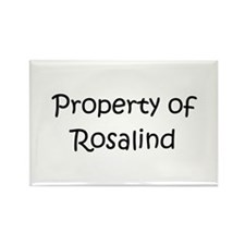 Funny Rosalind Rectangle Magnet