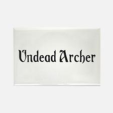 Undead Archer Rectangle Magnet