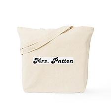 Mrs. Patton Tote Bag