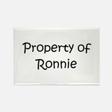 Unique Ronnie Rectangle Magnet