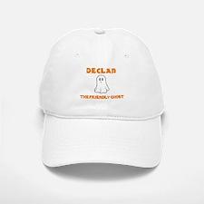 Declan The Friendly Ghost Baseball Baseball Cap