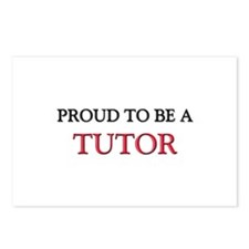 Proud to be a Tutor Postcards (Package of 8)