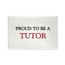 Proud to be a Tutor Rectangle Magnet (10 pack)