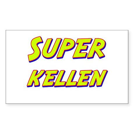 Super kellen Rectangle Sticker