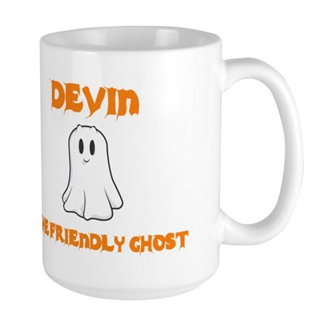 Devin The Friendly Ghost Large Mug