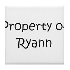 Unique Ryann's Tile Coaster