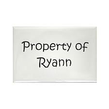 Unique Ryann Rectangle Magnet