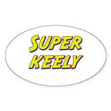 Super keely Oval Decal