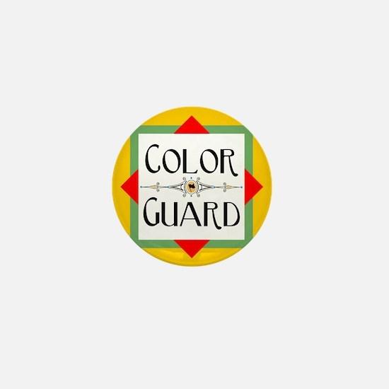 Color Guard Mini Button