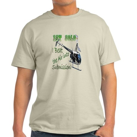 1st Helicopter Solo Light T-Shirt