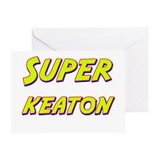 Super keaton Greeting Card