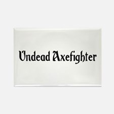 Undead Axefighter Rectangle Magnet