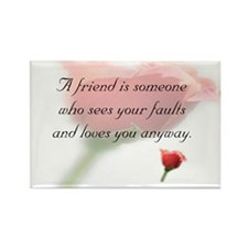 Cute Friendship Rectangle Magnet (100 pack)
