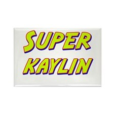 Super kaylin Rectangle Magnet