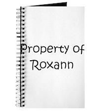 Unique Roxanne name Journal