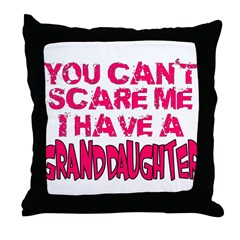 Scare Me - Granddaughter Throw Pillow