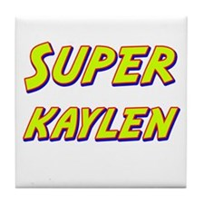 Super kaylen Tile Coaster
