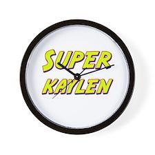 Super kaylen Wall Clock