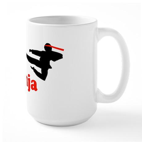 It's OK I'm a Ninja Large Mug