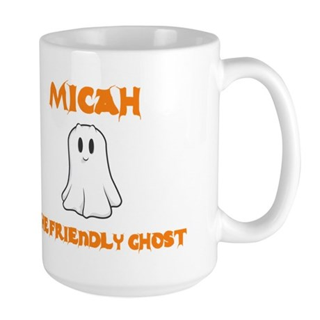 Micah The Friendly Ghost Large Mug
