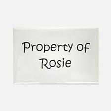 Unique Rosie Rectangle Magnet