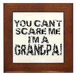 Scare Me - Grandpa Framed Tile