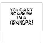 Scare Me - Grandpa Yard Sign