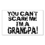 Scare Me - Grandpa Rectangle Sticker