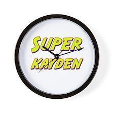 Super kayden Wall Clock