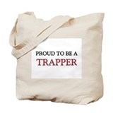 Proud trapper Canvas Bags