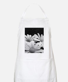 Dots and dashes b/w BBQ Apron