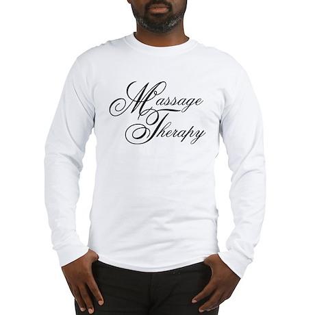 Massage Therapy Long Sleeve T-Shirt
