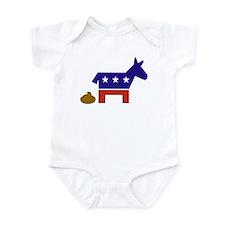 """Democrats Poop"" Infant Bodysuit"