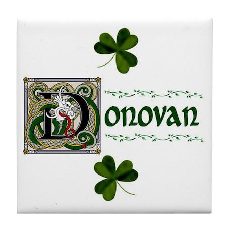 Donovan Celtic Dragon Ceramic Tile